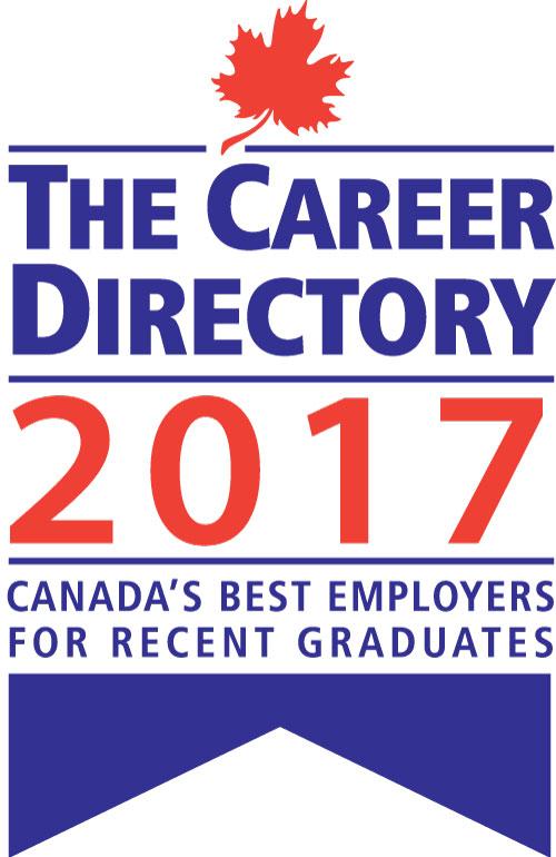 2017 - Canada's Best Employer for Recent Grads