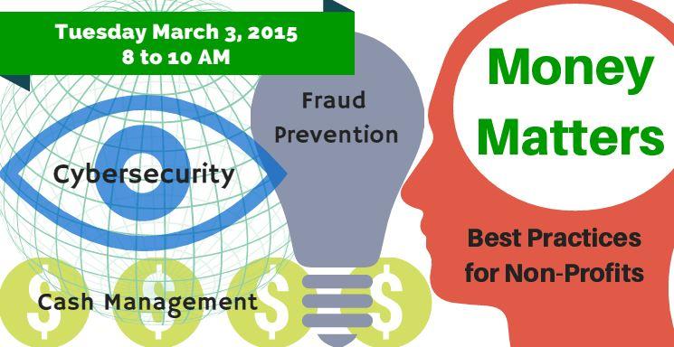 Money Matters Seminar for Non-Profits