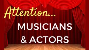 Attention Musicians & Artists