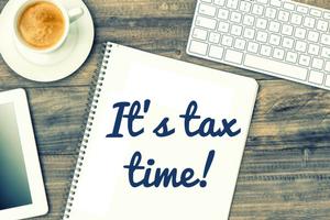 It's Tax Time!
