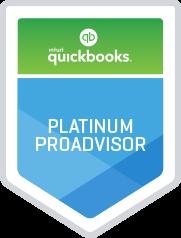 QuickBooks Online Platinum ProAdvisor Badge