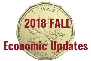 2018 Fall Economic Updates