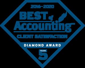 2016-2020 Best of Accounting Diamond Award