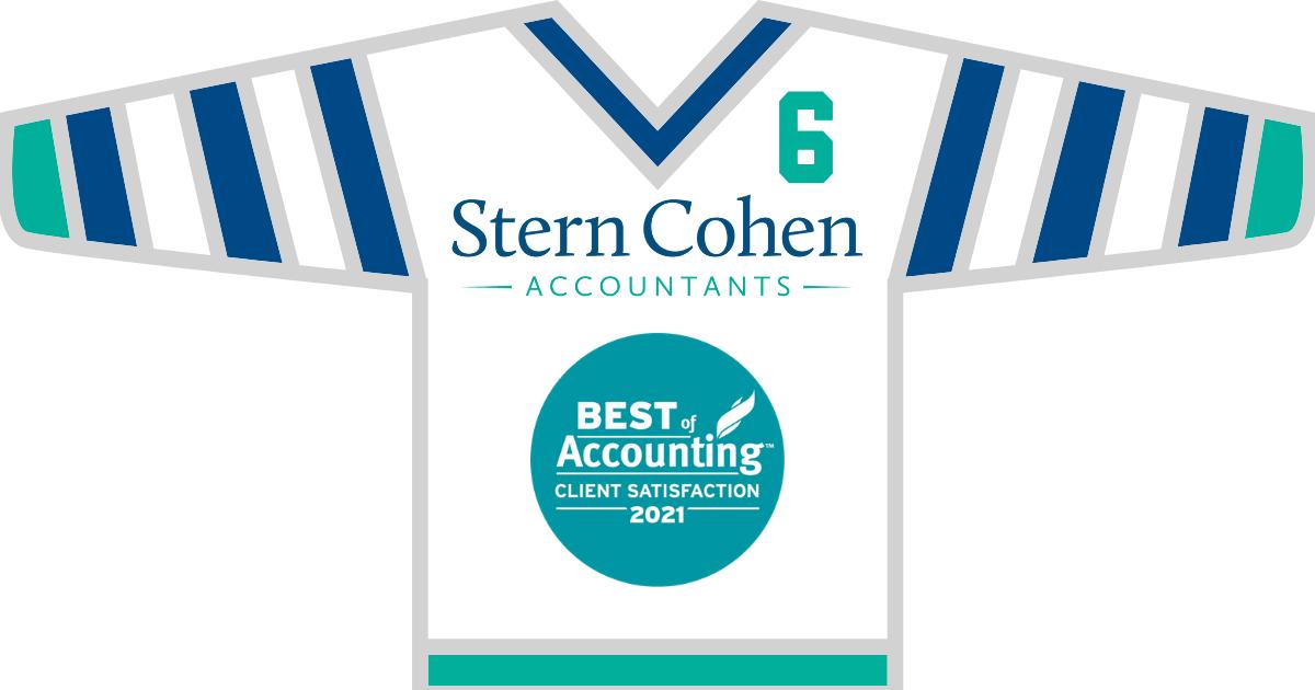 stern cohen accountants hockey sweater